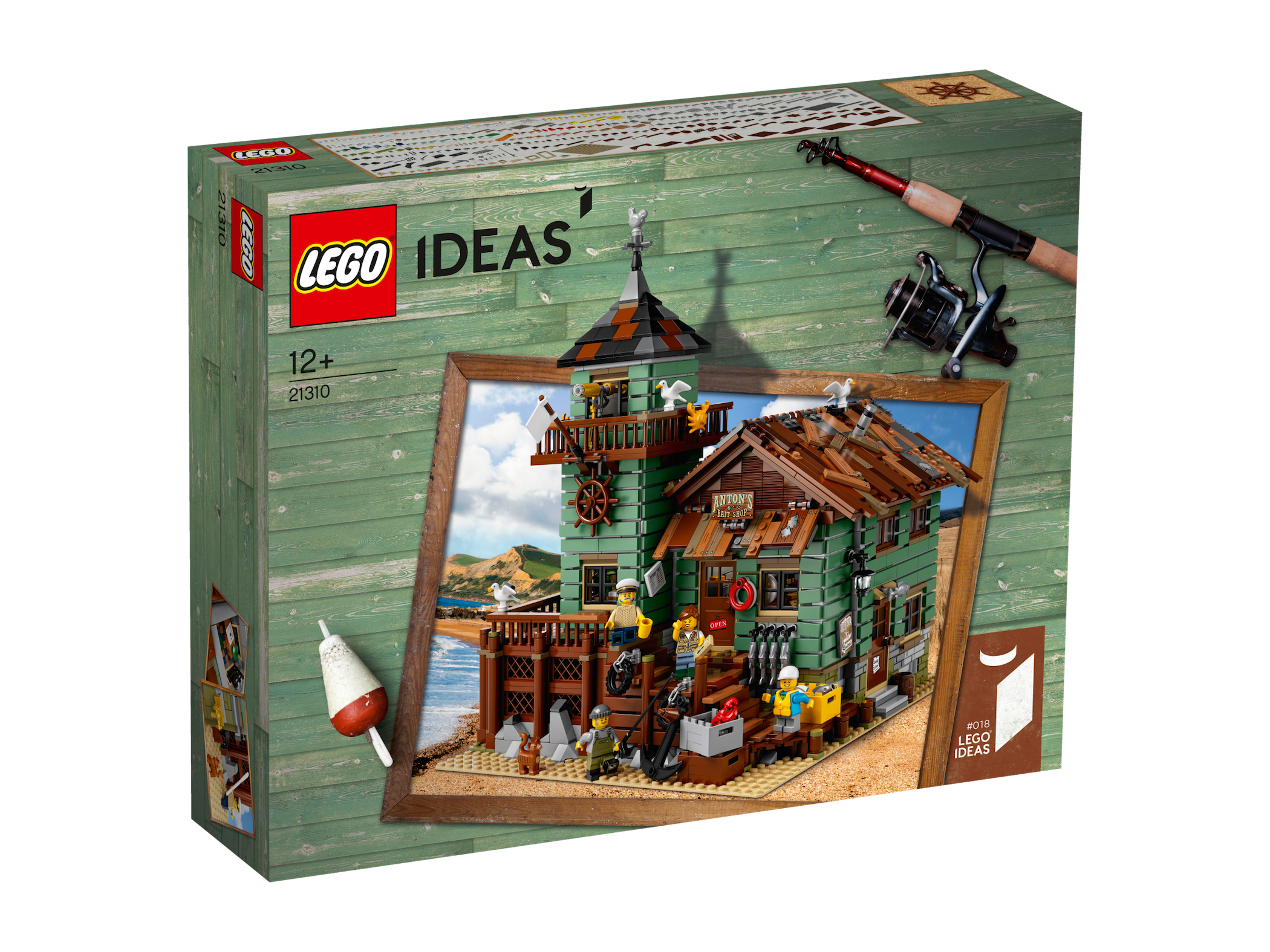 Lego ideas alter angelladen neu ovp old fishing store new