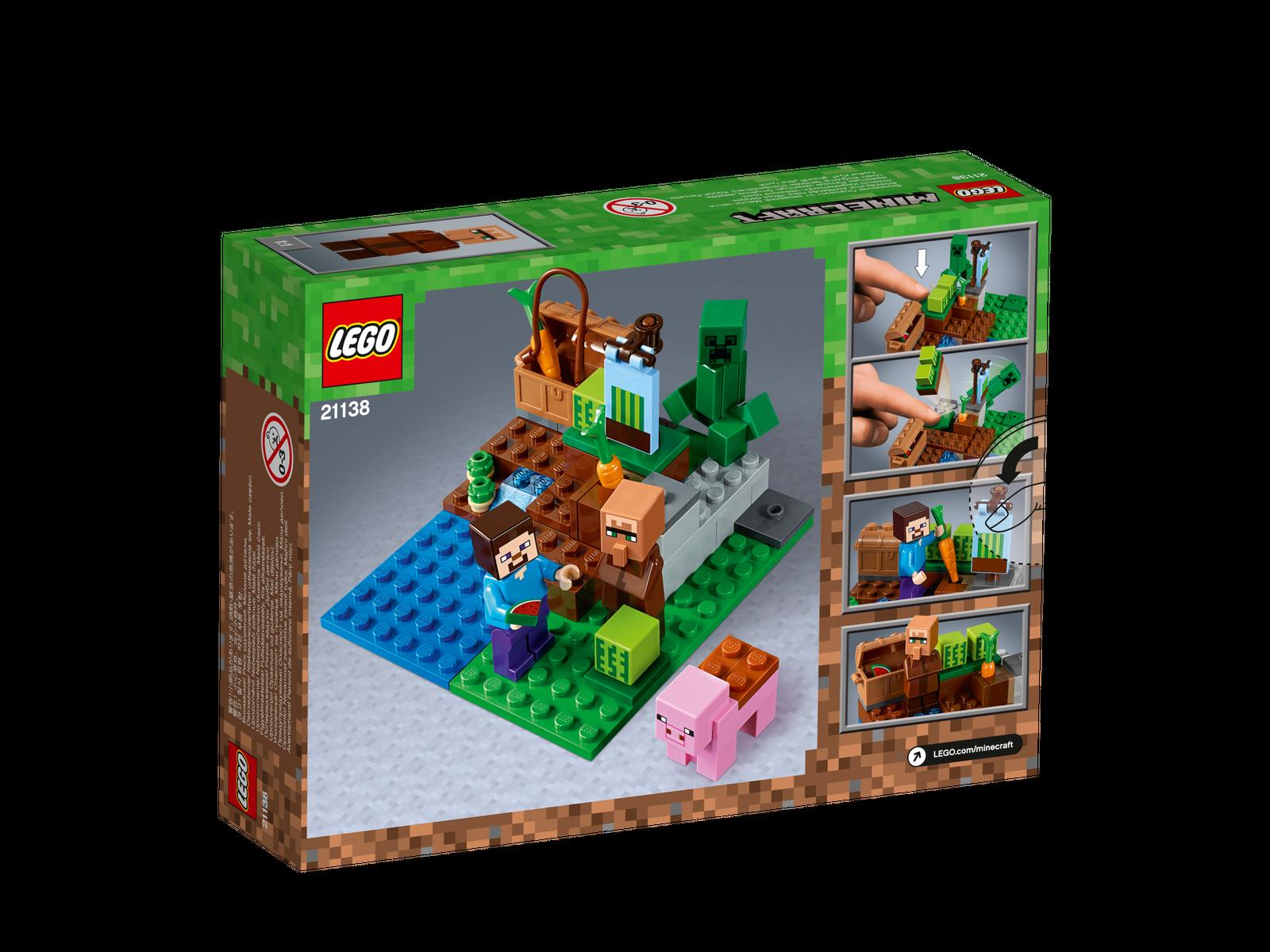 LEGO® Minecraft™ 21138 Melonenplantage NEU OVP_The Melon Farm NEW ...