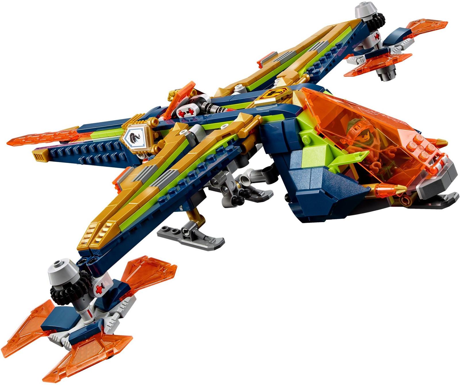 OVP LEGO 72005 Nexo Knights Aarons Armbrust mit Figuren NEU