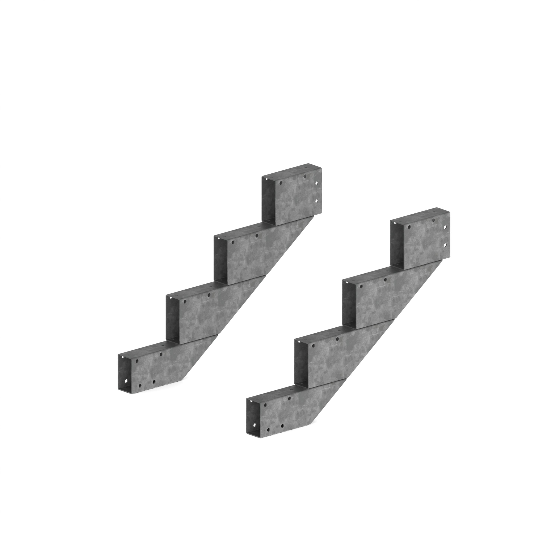 treppe ohne stufenbelag und gel nder treppen treppen ohne. Black Bedroom Furniture Sets. Home Design Ideas