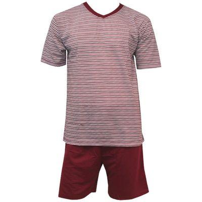 c69e3537b7 Herren Schlafanzug Shorty kurz im Streifenlook 2tlg 4751 in verschiedenen  Farben