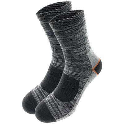 Lavazio® 6 Paar Herren Arbeitssocken Sportsocken Thermo Socken melangefarben – Bild 2