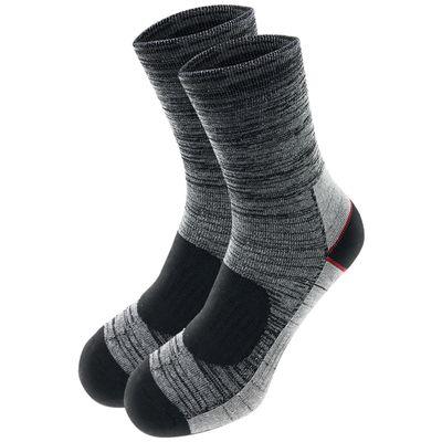 Lavazio® 6 Paar Herren Arbeitssocken Sportsocken Thermo Socken melangefarben – Bild 3