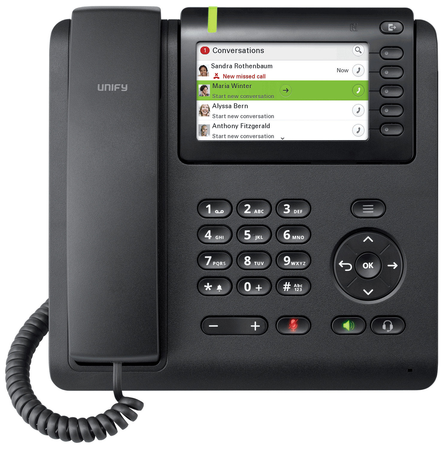 UNIFY OpenScape Desk Phone CP600 SIP L30250-F600-C428