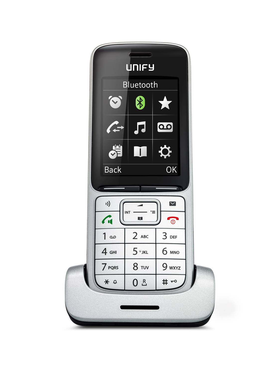 UNIFY OpenScape DECT Phone SL5 L30250-F600-C450 mit Ladeschale L30250-F600-C451
