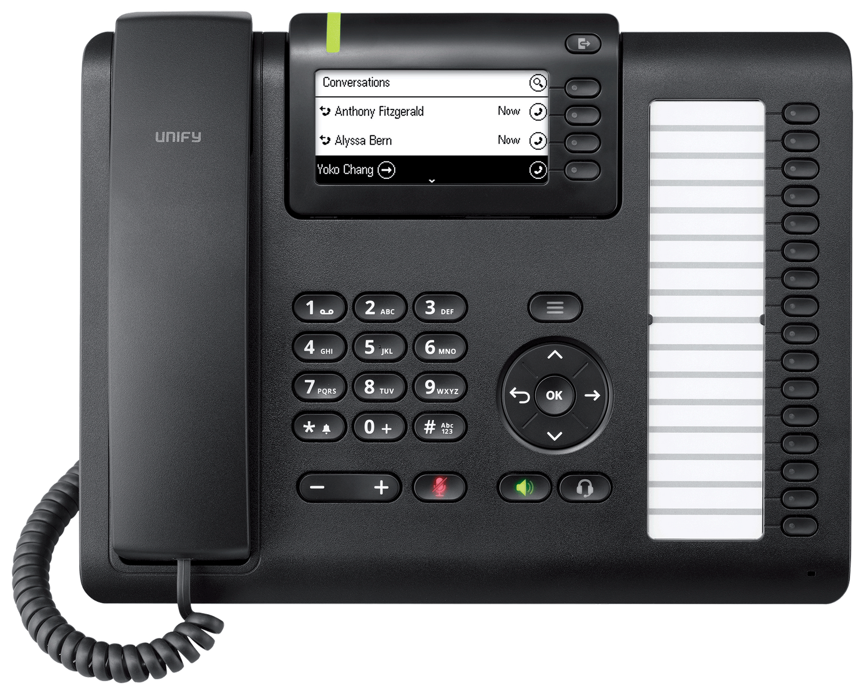 UNIFY OpenScape Desk Phone CP400 SIP L30250-F600-C427