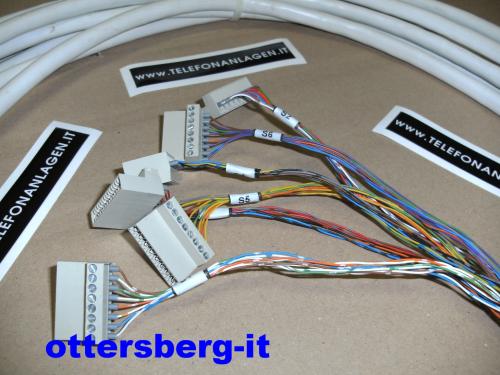 Siemens HiPath 3350 / 3550 HVT Systemkabel Openend