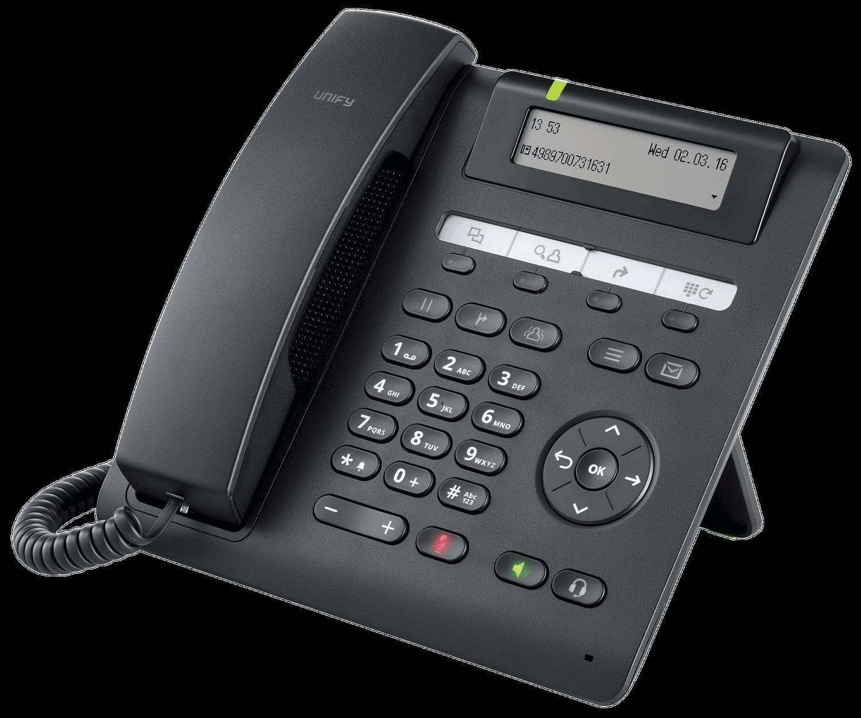 UNIFY OpenScape Desk Phone CP200 SIP logolos L30250-F600-C444 NEU OVP