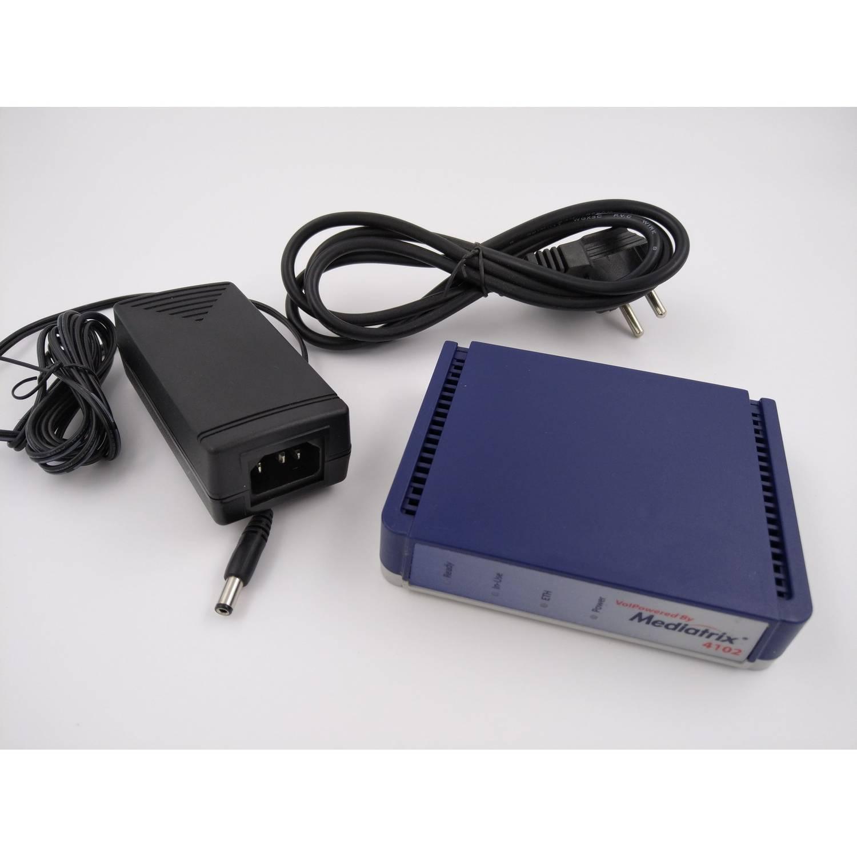 UNIFY Mediatrix 4102 - 2 Port Analog Interface IP a/b Wandler L30220-D600-A214