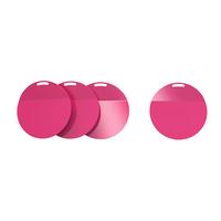 in rosa; 4 Stück