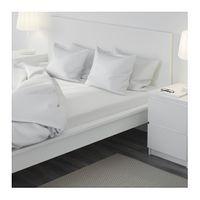 IKEA DVALA Spannbettlaken in weiß (140x200cm) 003