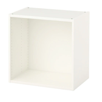 in weiß; (60x40x60cm)