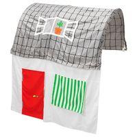 für Kinderbett; in grau/weiß