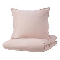 in rosa; gestreift; 100% Baumwolle; 3tlg.; (240x220/80x80cm)