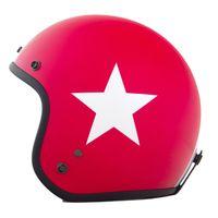 (spezialrot mit weißem Stern); Größe XL (60-62cm)