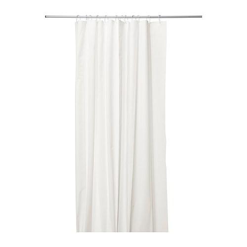 ikea eggegrund duschvorhang in wei 180x200cm wohnen. Black Bedroom Furniture Sets. Home Design Ideas