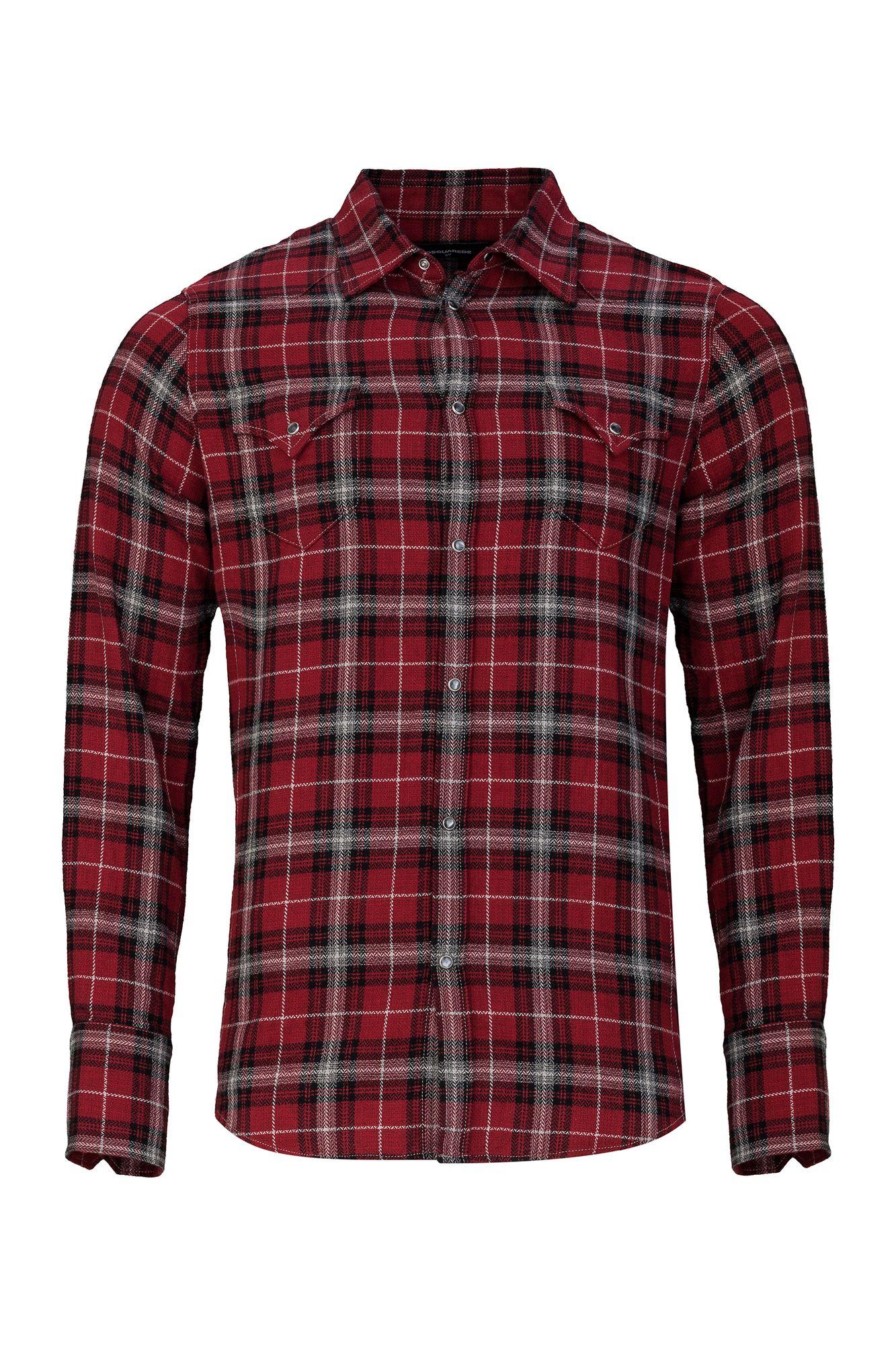 b56ce3629542 casual checked Shirt Herren Kleidung Hemden Freizeit