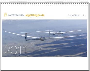 Wandkalender DIN A2+, Fotokalender Segelfliegen 2011 – Bild 1