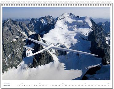 Wall calendar DIN A2+, Fotokalender Segelfliegen 2011 – Bild 2