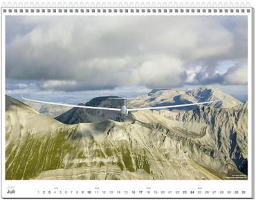 Wandkalender DIN A2+, Fotokalender Segelfliegen 2011 – Bild 8