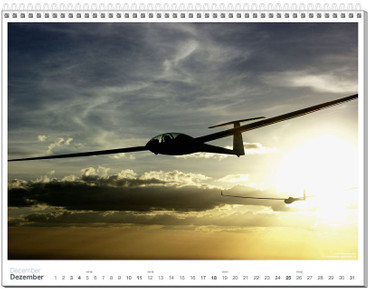 Wall calendar DIN A2+, Fotokalender Segelfliegen 2011 – Bild 13