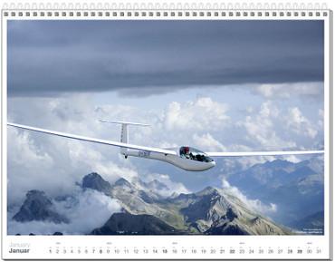 Wall calendar DIN A2+, Fotokalender Segelfliegen 2012 – Bild 2