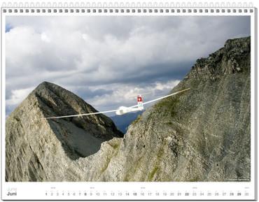 Wall calendar DIN A2+, Fotokalender Segelfliegen 2014 – Bild 7
