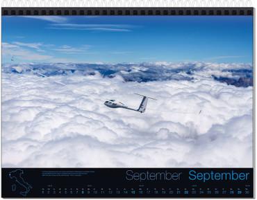 Abo: Wandkalender DIN A3, Fotokalender Segelfliegen – Bild 10