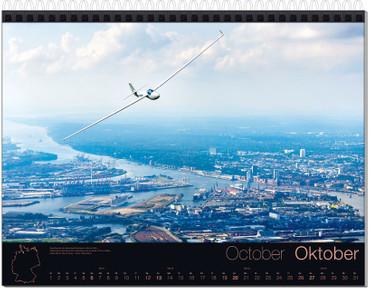 Abo: Wandkalender DIN A3, Fotokalender Segelfliegen – Bild 11