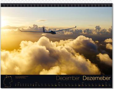 Abo: Wandkalender DIN A3, Fotokalender Segelfliegen – Bild 13