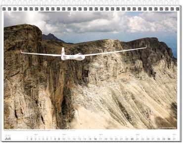 Wall calendar DIN A3, Fotokalender Segelfliegen 2017 – Bild 8