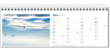 Table calendar, Fotokalender Segelfliegen 2017 – Bild 4