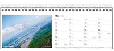 Table calendar, Fotokalender Segelfliegen 2017 – Bild 6