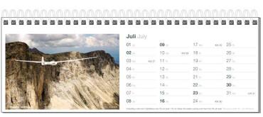 Tischkalender, Fotokalender Segelfliegen 2017 – Bild 8