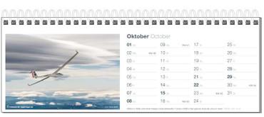 Tischkalender, Fotokalender Segelfliegen 2017 – Bild 11