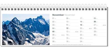 Tischkalender, Fotokalender Segelfliegen 2017 – Bild 12