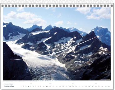 Wandkalender DIN A3, Fotokalender Segelfliegen 2018 – Bild 12