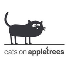 Marken-Logo-cats on appletrees