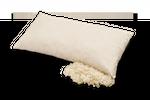 Kopfkissen aus Bio-Baumwolle und Bio-Schurwolle, Baumberger