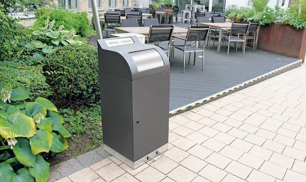 Abfallbehälter Außenbereich