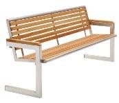 Parkbank aus Holz