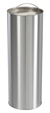 Standascher mit Sandbehälter 0,15L - Edelstahl