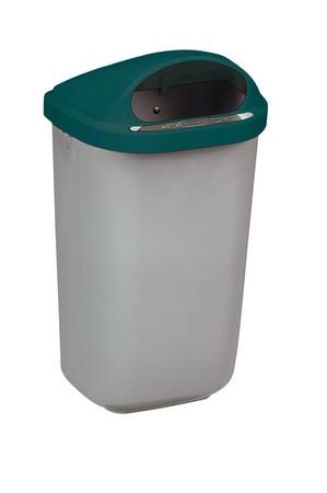 Wandabfallbehälter aus Kunststoff in 4 Farben, 50L – Bild 3