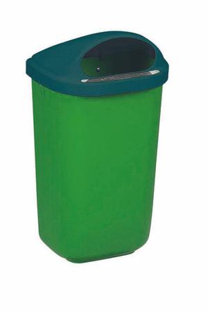 Wandabfallbehälter aus Kunststoff in 4 Farben, 50L – Bild 4