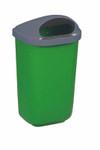 Wandabfallbehälter aus Kunststoff in 4 Farben, 50L