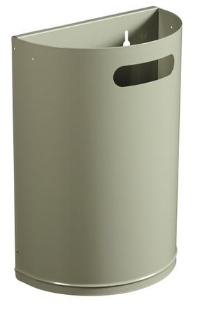 Abfallbehälter zur Wandmontage 20L in 4 Farben – Bild 1