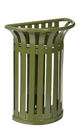 Abfallbehälter zur Befestigung an Ständer 35L in 4 Farben – Bild 2