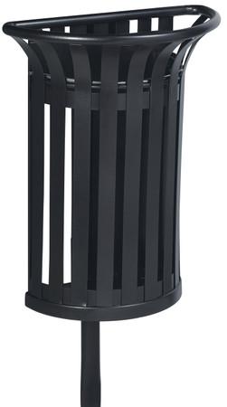 Abfallbehälter zur Befestigung an Ständer 35L in 4 Farben – Bild 1