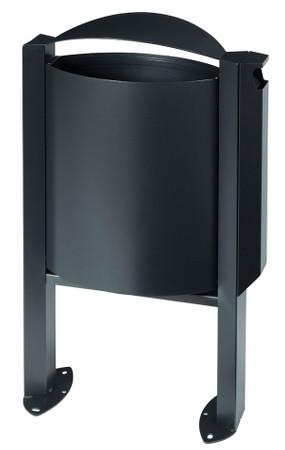 Abfallbehälter mit Ascher - 40L/3L in 4 Farben – Bild 4