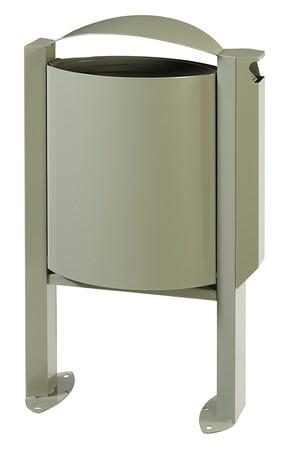 Abfallbehälter mit Ascher - 40L/3L in 4 Farben – Bild 2
